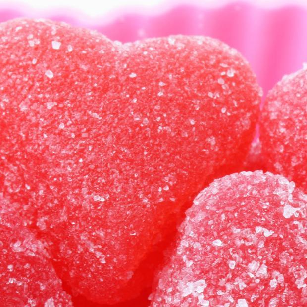 Cuori di gelatina