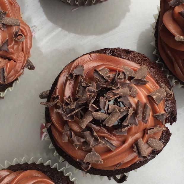Cupcake foresta nera