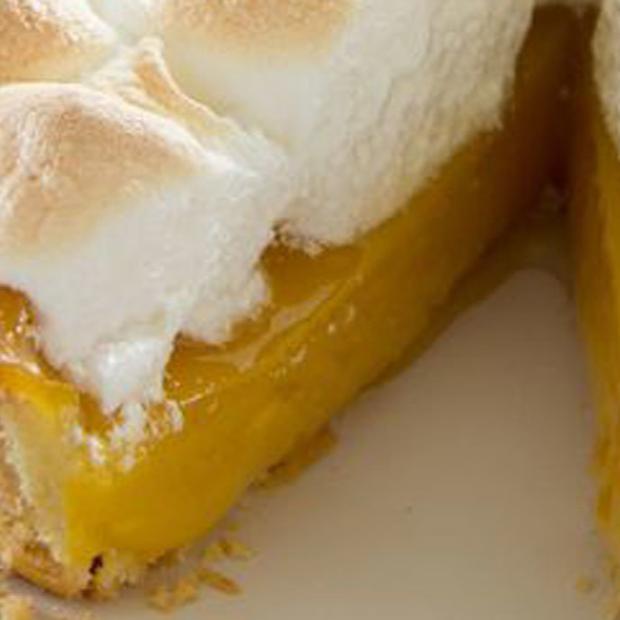 Lemon pie con meringa