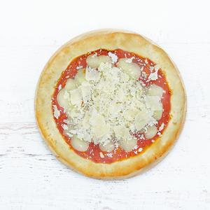 Pizza margherita 5 cereali con pepe e parmigiano