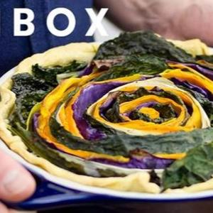 Spiral Tart di verdure