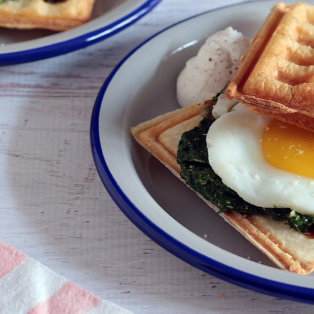 Waffle di Pasqua