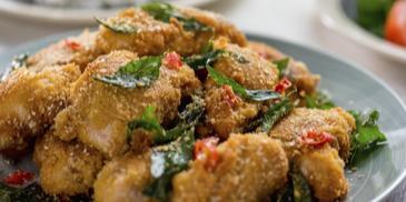 Ayam Goreng Nestum