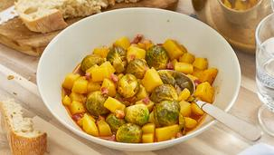 Rosenkohl-Kartoffel-Topf