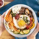 Bibimbap - koreanisches Reisgericht