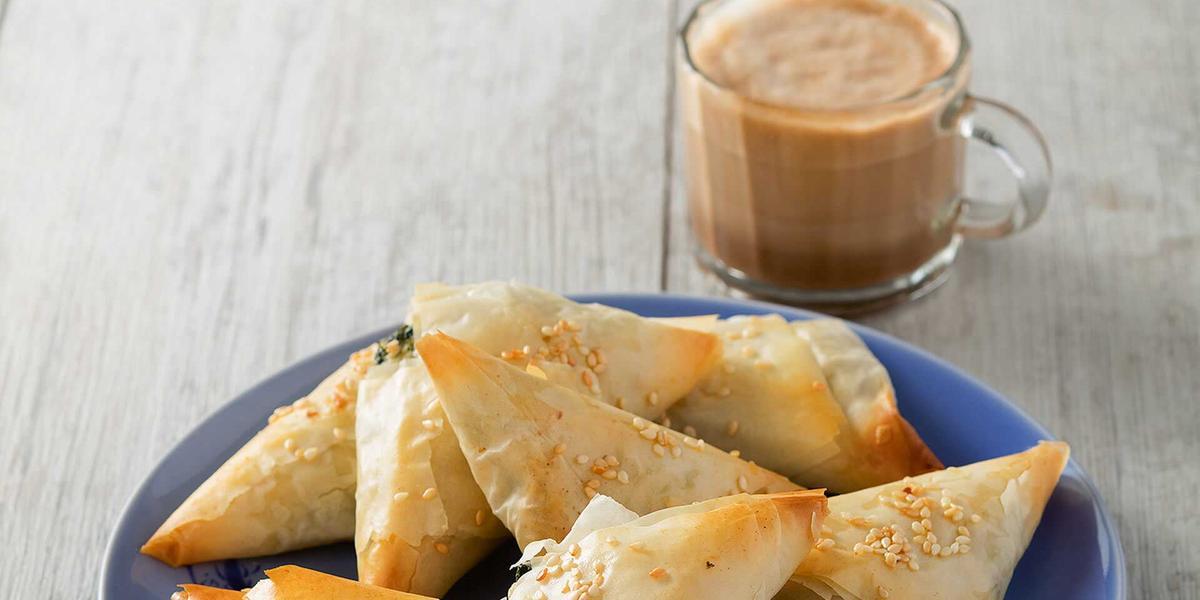 Empanaditas con ricotta y espinaca