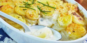 Sour Cream & Chives Flavour  Potato Bake