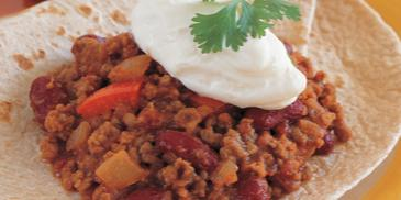 Ground Beef Burritos with Whole Wheat Tortillas