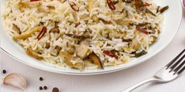 Mixed Mushroom Rice