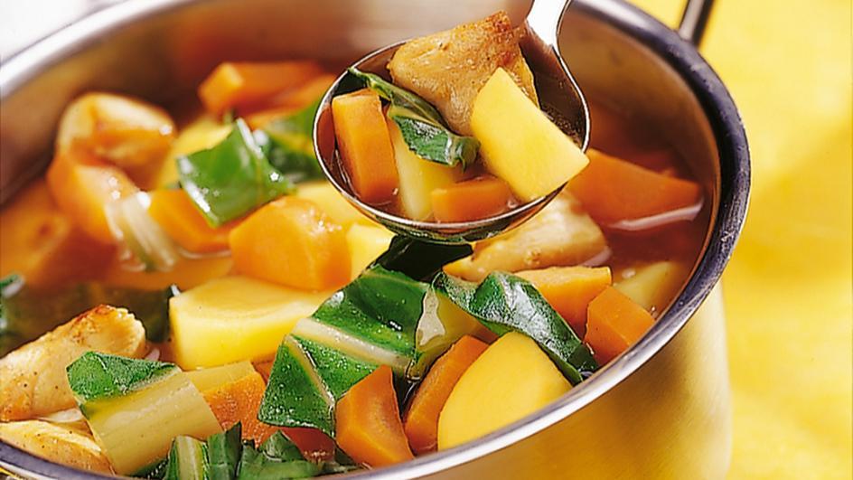Möhren-Mangold-Eintopf