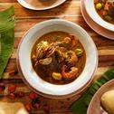 Green Leaf Palmnut Soup