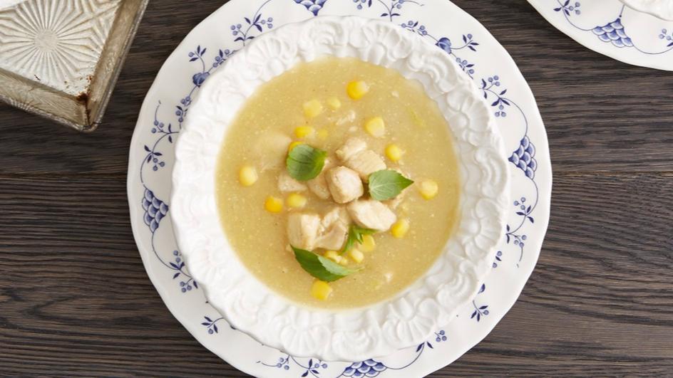 Cream Corn and Chicken Soup