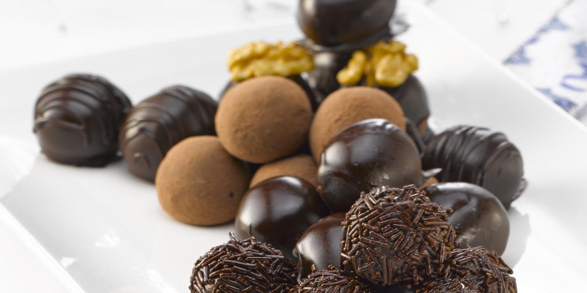 Truffas de Chocolate
