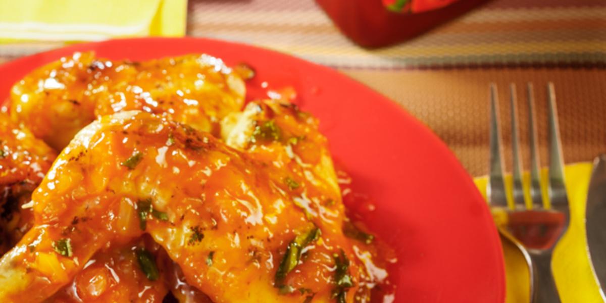 Alitas en salsa de maracuyá y Ketchup MAGGI®