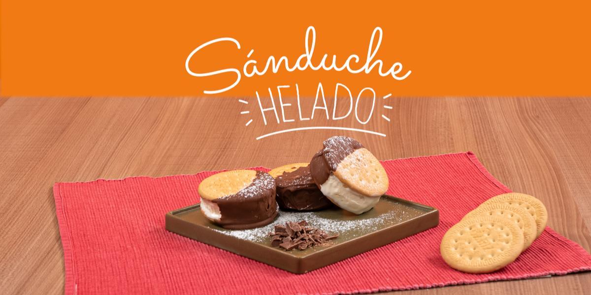 SANDUCHE HELADO