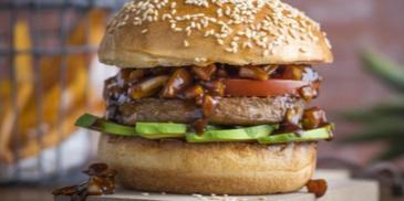 Burger végétarien sauce Teriyaki
