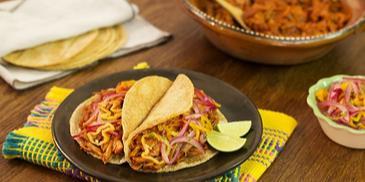 Marynowana wieprzowina po meksykańsku