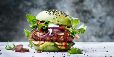 Grilovaný zelený Sensational burger
