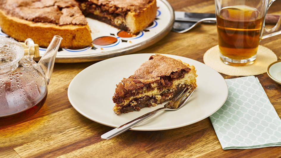 Pecan-Nuss-Schokoladen-Pie