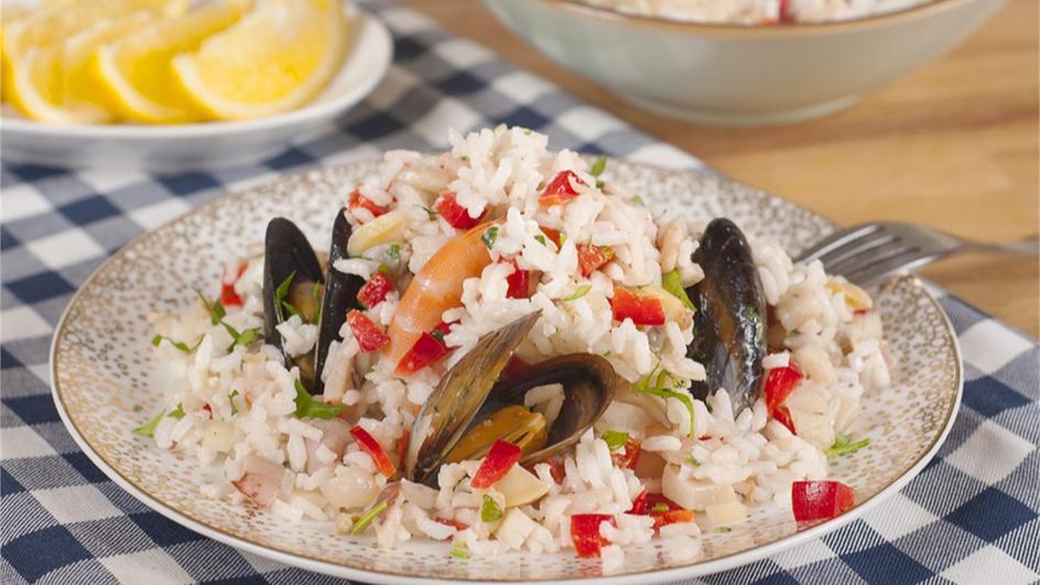Frutti di mare z ryżem