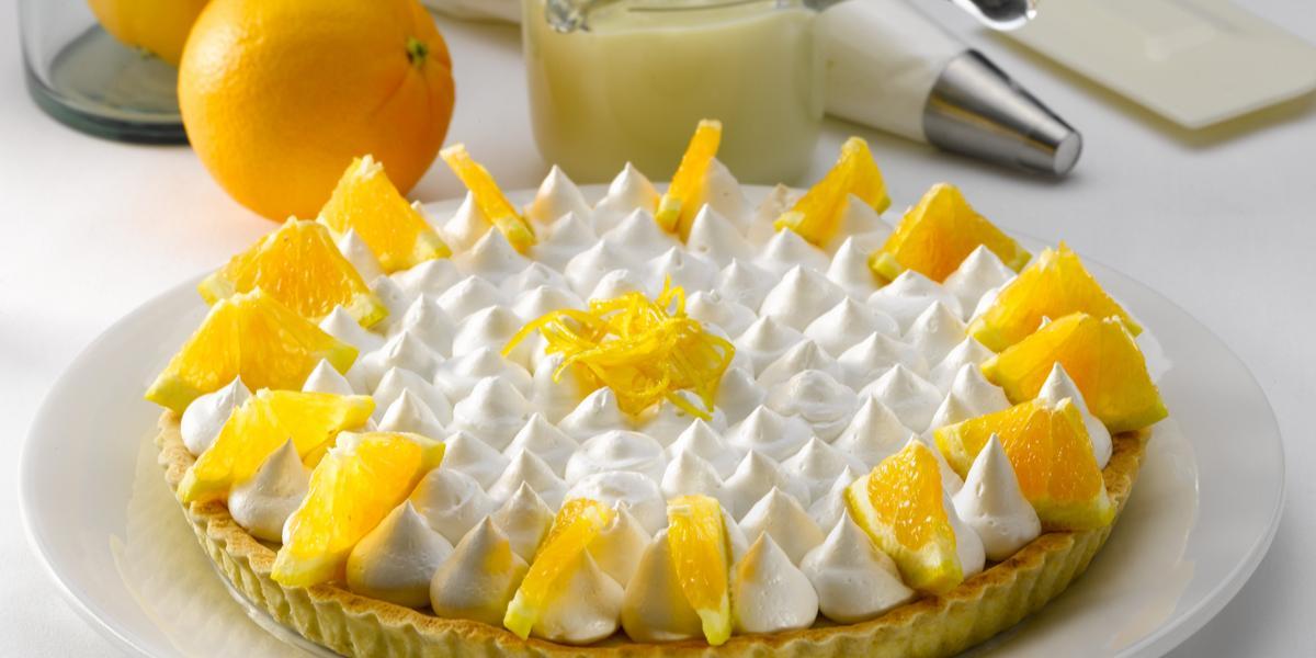 Pie Cremoso de Naranja