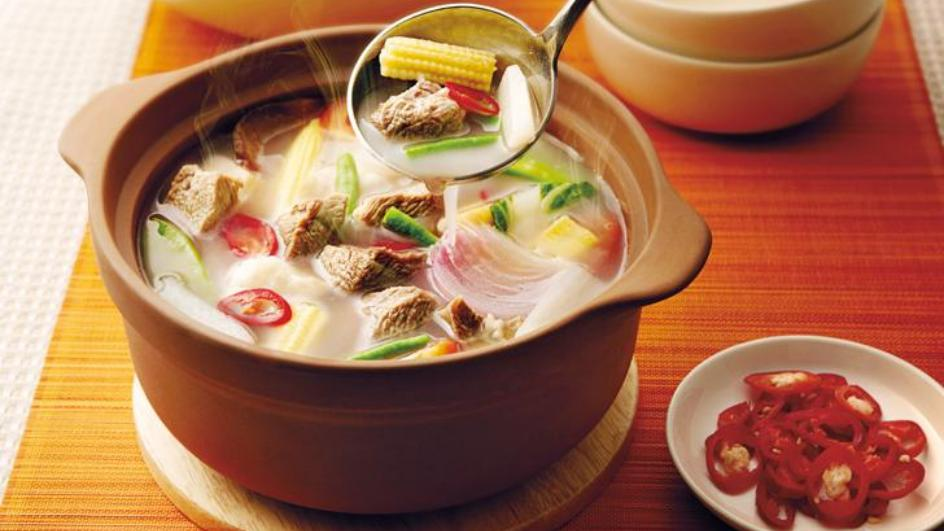 Sup Daging Singgang Pedas Masam