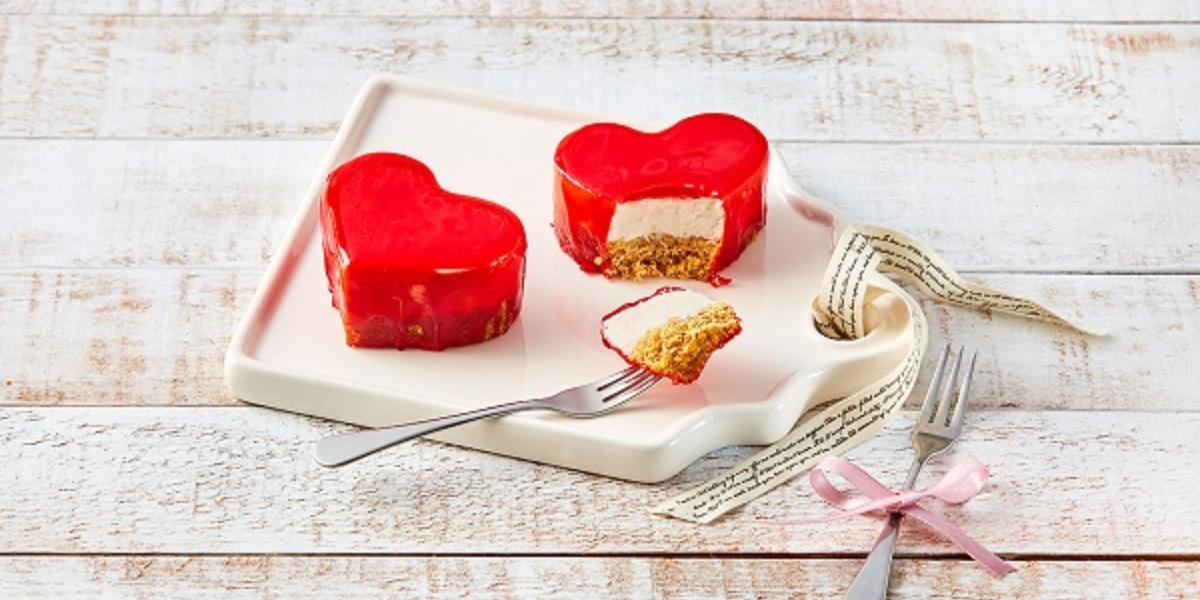 Cheesecake de corazón