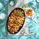 Batata Harra (Libanese aardappeltjes uit de oven)