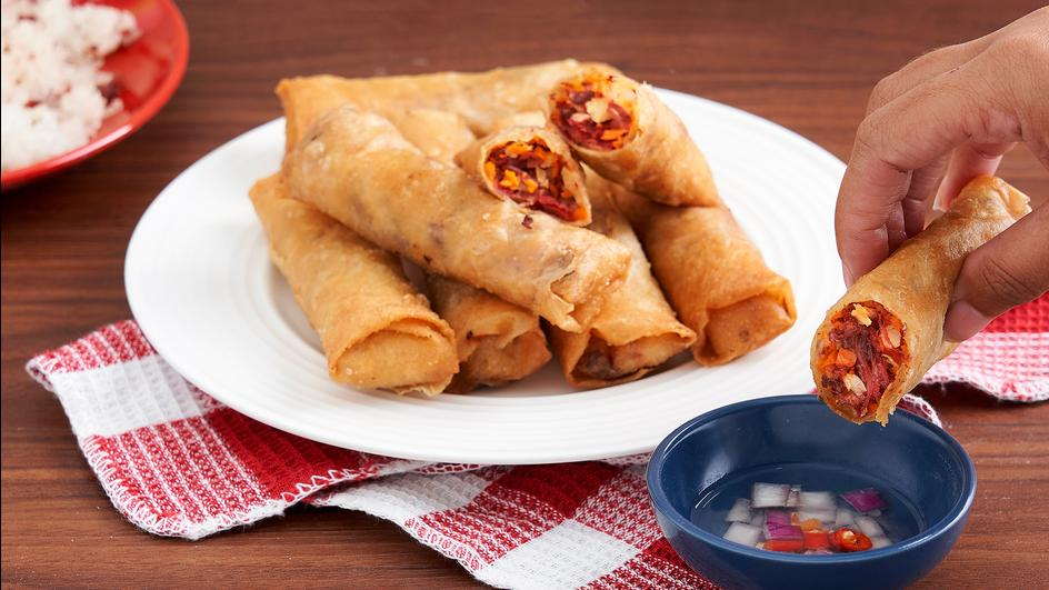 All-in-Onederful Lumpiang Corned Beef