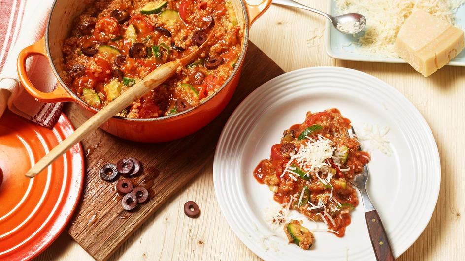One Pot Quinoa Mediterran
