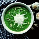 Zupa szpinakowa z mrożonego szpinaku