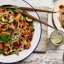Honey Soy Chicken Noodle Salad