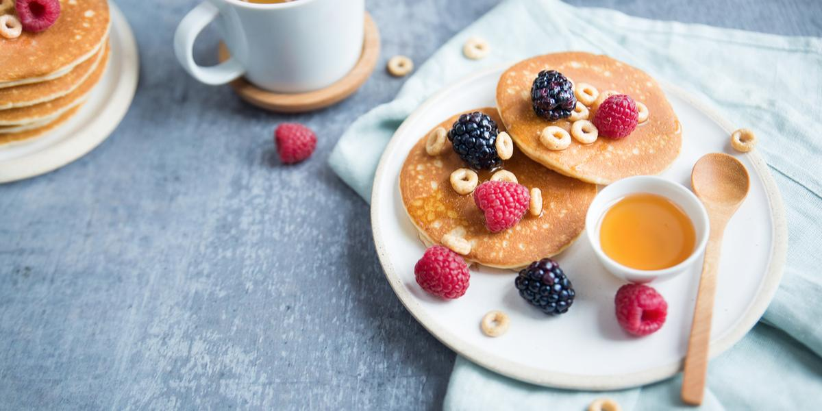 Mini Hot Cakes de Cereal