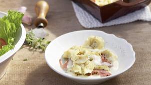 Maggi Fix für Ofen-Tortelloni alla Panna (für Gäste)