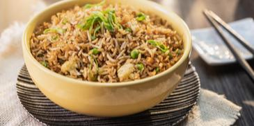 Oriental-Style Vegetable Fried Rice Recipe