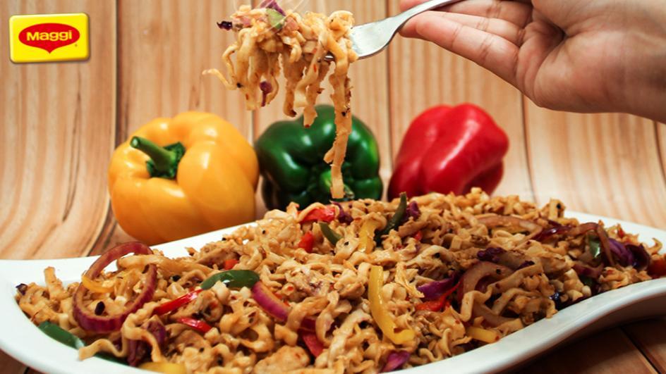 Mongolian Broad Noodles