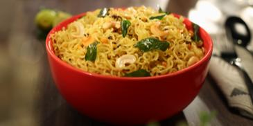 Crunchy Lemony MAGGI Noodles Recipe