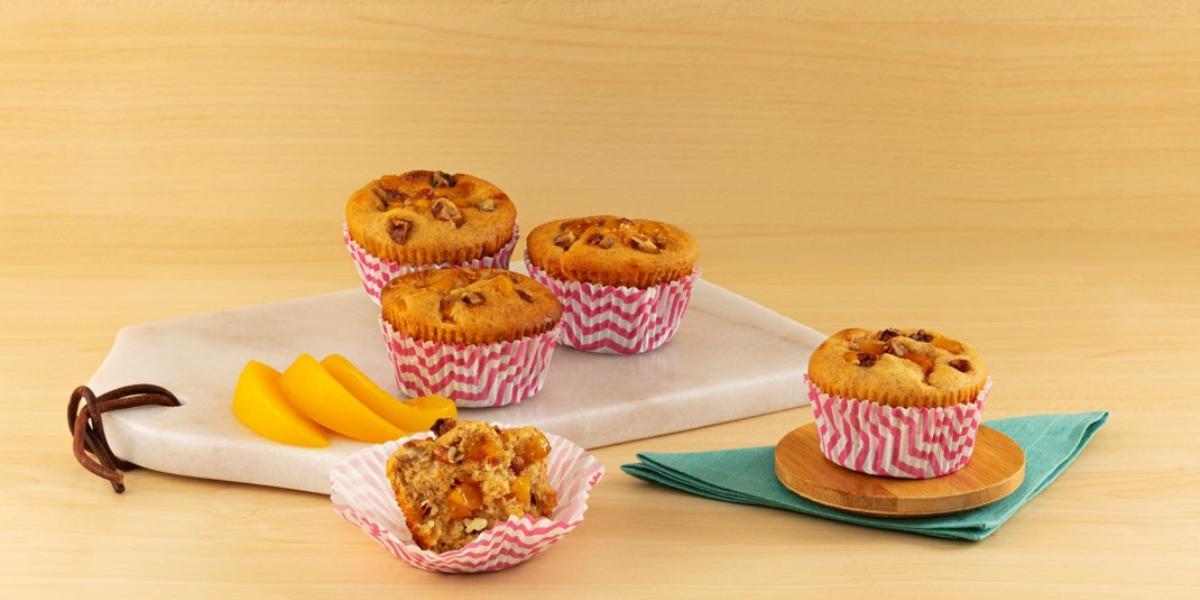 Muffins de durazno