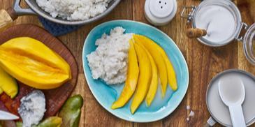 Sticky Rice mit Mango (Thailand)
