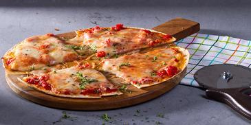 Πίτσα με τορτίγιες