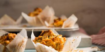 Chicken & Sundried Tomato Muffins