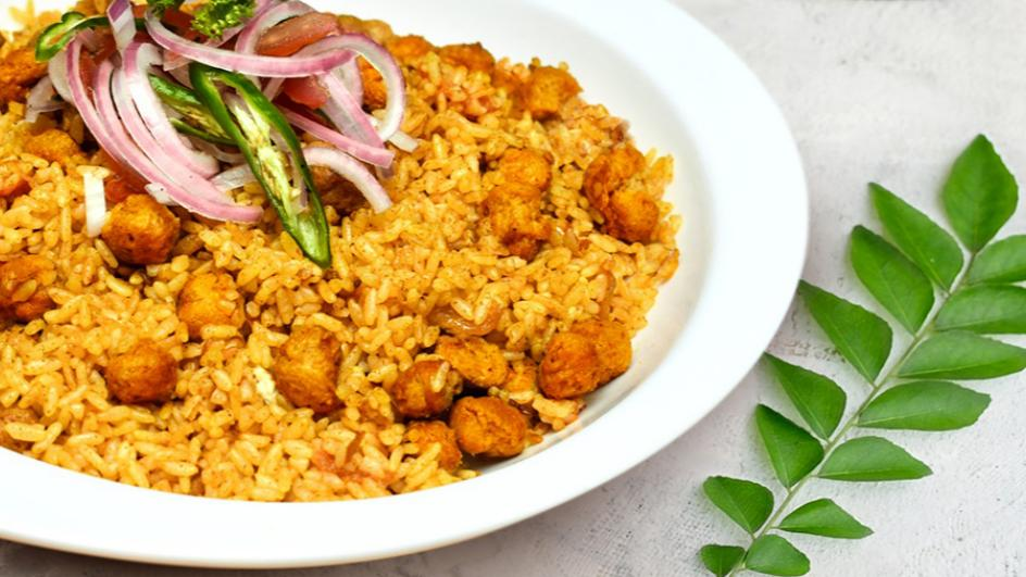 Curry Flavoured Soya Meat
