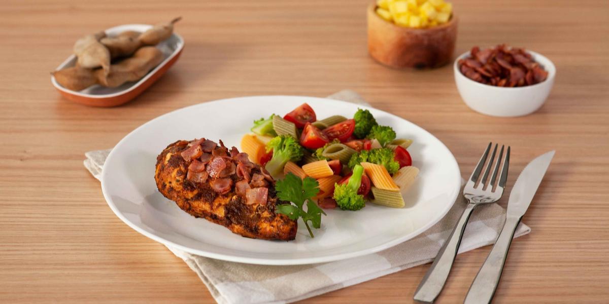 Abanico de pollo con chipotle y tamarindo