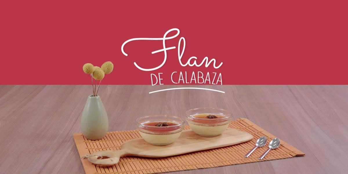 FLAN DE CALABAZA