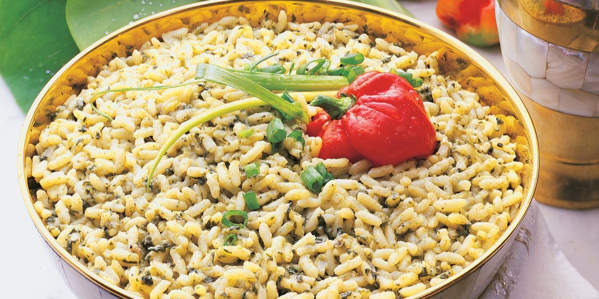 Callaloo Rice