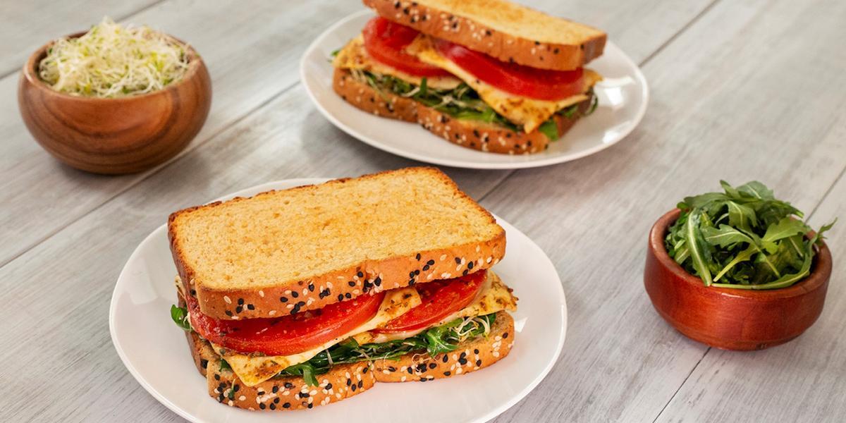 Sándwich del huerto