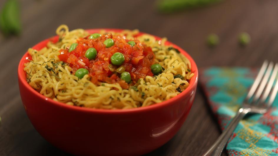 Easy Peasy Kasoori Methi MAGGI Noodles Recipe