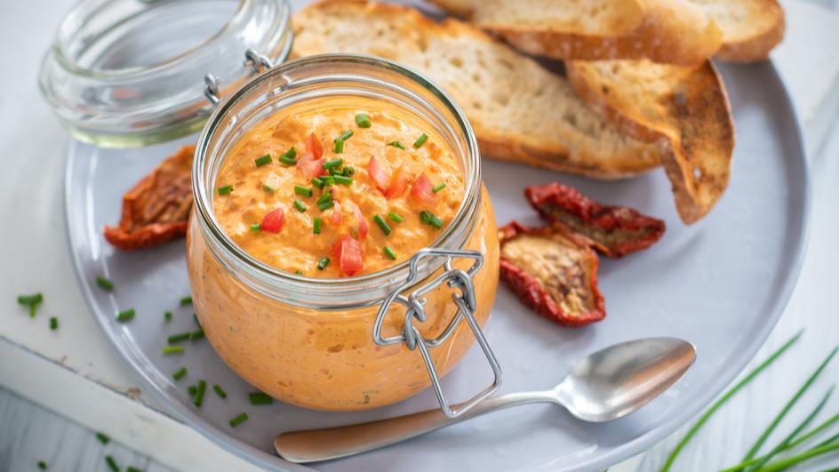 Tomaten Dip mit Quark