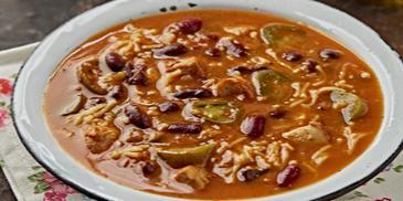 Tex-Mex Chilli Soup