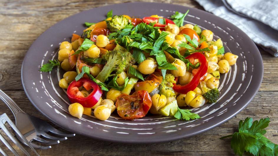 Soya Salad Bhel Recipe